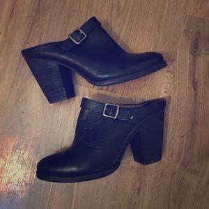 FRYE Leather 'Patty' Slingback Clog Size 10